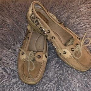 Sperry Boat Shoes Like New